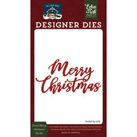 Echo Park - The First Noel Collection - Designer Dies - Sweet Merry Christmas