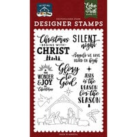 Echo Park - The First Noel Collection - Clear Photopolymer Stamps - Glory to God