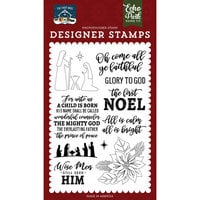 Echo Park - The First Noel Collection - Clear Photopolymer Stamps - The First Noel