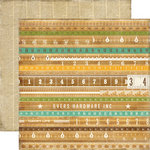 Echo Park - This and That Collection - Charming - 12 x 12 Double Sided Paper - Yardsticks