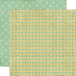 Echo Park - This and That Collection - Charming - 12 x 12 Double Sided Paper - Swirls