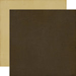 Echo Park - This and That Collection - Charming - 12 x 12 Double Sided Paper - Chocolate