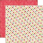 Echo Park - This and That Collection - Graceful - 12 x 12 Double Sided Paper - Quilt
