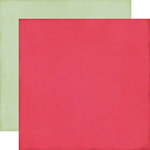 Echo Park - This and That Collection - Graceful - 12 x 12 Double Sided Paper - Dark Pink