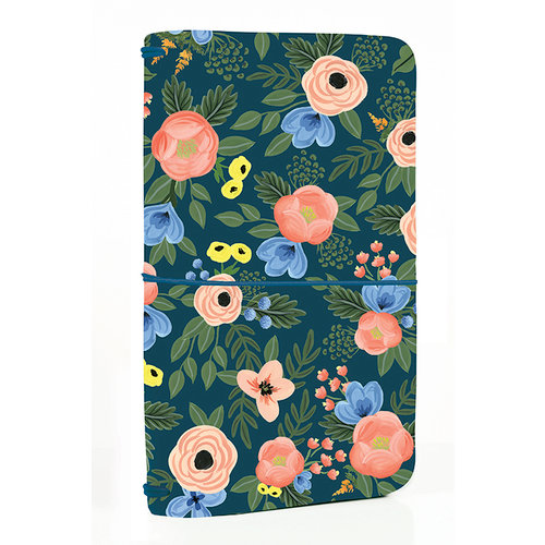 Echo Park - Travelers Notebook - Navy Floral