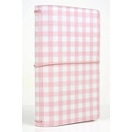 Echo Park - Travelers Notebook - Pink Gingham