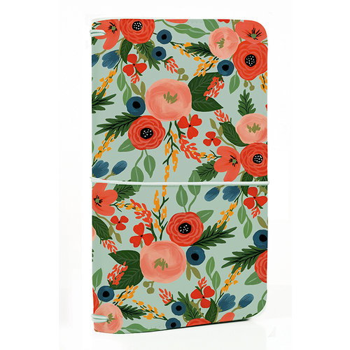 Echo Park - Travelers Notebook - Mint Floral