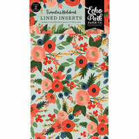 Echo Park - Full Bloom Collection - Travelers Notebook - Insert - Lined