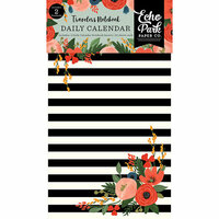 Echo Park - Full Bloom Collection - Travelers Notebook - Insert - Daily Calendar