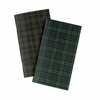 Echo Park - Black Watch Plaid Collection - Travelers Notebook - Insert - Blank