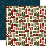 Echo Park - Twas the Night Before Christmas Collection - 12 x 12 Double Sided Paper - Perfect Presents