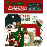 Echo Park - Twas the Night Before Christmas Collection - Ephemera - Frames and Tags