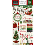 Echo Park - Twas the Night Before Christmas Collection - Chipboard Stickers