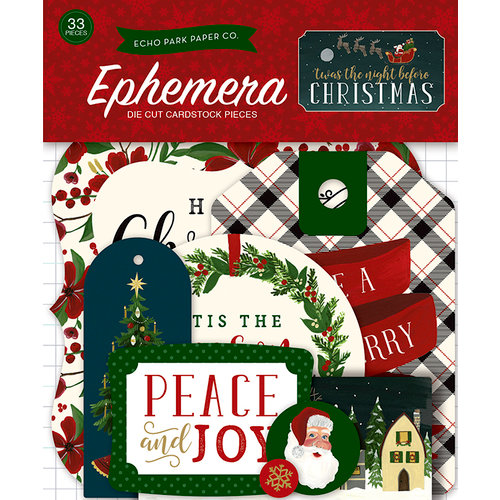 Echo Park - Twas the Night Before Christmas Collection - Ephemera