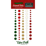Echo Park - Twas the Night Before Christmas Collection - Enamel Dots