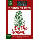 Echo Park - Twas the Night Before Christmas Collection - Designer Dies - Tis the Season Branch