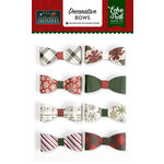 Echo Park - Twas the Night Before Christmas Collection - Decorative Bows