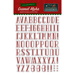 Echo Park - Twas the Night Before Christmas Collection - Enamel Alpha Letters