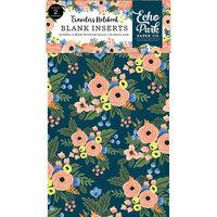 Echo Park - Fancy Flora Collection - Travelers Notebook - Insert - Blank