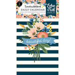 Echo Park - Fancy Flora Collection - Travelers Notebook - Insert - Daily Calendar