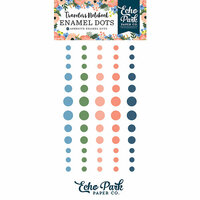 Echo Park - Full Bloom Collection - Travelers Notebook - Enamel Dots