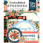 Echo Park - Full Bloom Collection - Travelers Notebook - Ephemera