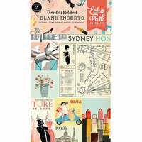 Echo Park - Metropolitan Girl Collection - Travelers Notebook - Insert - Blank
