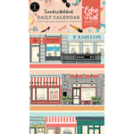 Echo Park - Metropolitan Girl Collection - Travelers Notebook - Insert - Daily Calendar