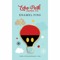 Echo Park - Mouse and Me Collection - Travelers Notebook - Enamel Pin - Balloon Ride