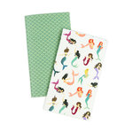 Echo Park - Mermaid Collection - Travelers Notebook - Insert - Daily Calendar