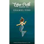 Echo Park - Mermaid Collection - Travelers Notebook - Enamel Pin - Mermaid