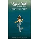 Echo Park - Mermaid Collection - Travelers Notebook - Enamel Pin - Mermaid