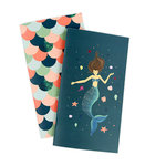 Echo Park - Mermaid Collection - Travelers Notebook - Insert - Weekly Calendar