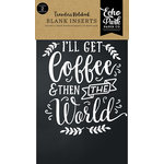 Echo Park - Coffee and Friends Collection - Travelers Notebook - Insert - Blank