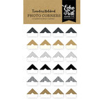 Echo Park - Coffee and Friends Collection - Travelers Notebook - Photo Corners