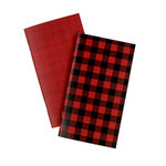 Echo Park - Red Buffalo Plaid Collection - Travelers Notebook - Insert - Daily Calendar