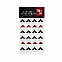 Echo Park - Red Buffalo Plaid Collection - Travelers Notebook - Photo Corners