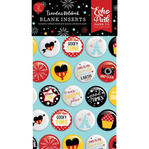 Echo Park - Wish Upon a Star Collection - Travelers Notebook - Insert - Blank