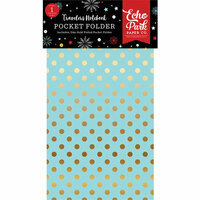 Echo Park - Wish Upon a Star Collection - Travelers Notebook - Insert - Pocket Folder with Foil Accents