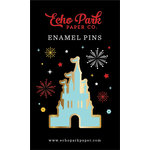 Echo Park - Wish Upon a Star Collection - Travelers Notebook - Enamel Pin - Magic Castle