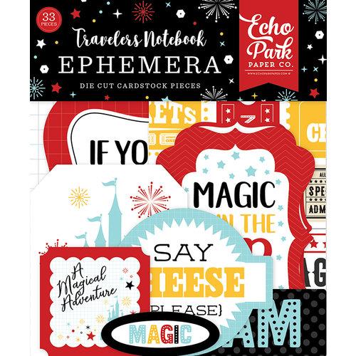 Echo Park - Wish Upon a Star Collection - Travelers Notebook - Ephemera