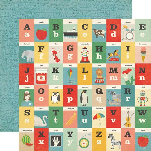 Echo Park - Teacher's Pet Collection - 12 x 12 Double Sided Paper - Alphabet