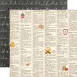 Echo Park - Teacher's Pet Collection - 12 x 12 Double Sided Paper - Dictionary