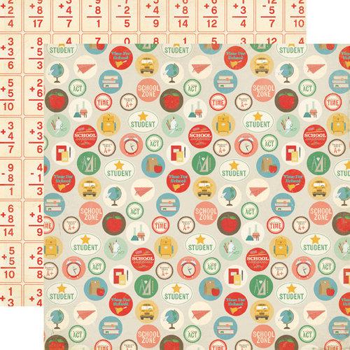 Echo Park - Teacher's Pet Collection - 12 x 12 Double Sided Paper - School Days