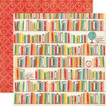 Echo Park - Teacher's Pet Collection - 12 x 12 Double Sided Paper - Books