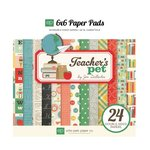 Echo Park - Teacher's Pet Collection - 6 x 6 Paper Pad