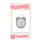 Echo Park - Teacher's Pet Collection - Designer Dies - Alarm Clock