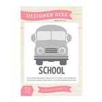 Echo Park - Teacher's Pet Collection - Designer Dies - School Bus