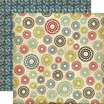 Echo Park - Times and Seasons Collection - 12 x 12 Double Sided Paper - Trinkets