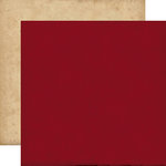 Echo Park - Times and Seasons Collection - 12 x 12 Double Sided Paper - Red